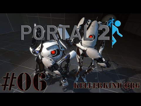 Portal 2 Co-Op [HD] #006 – Braindamage Teil 1 ★ Let's Play Portal 2