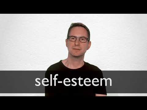 Self Esteem Definition And Meaning Collins English Dictionary