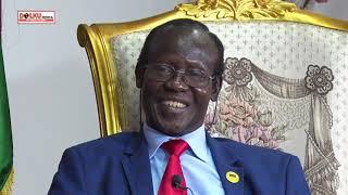 SPLM Deputy Chairman H.E Dr. James Wani on the LOBONOK RETREAT
