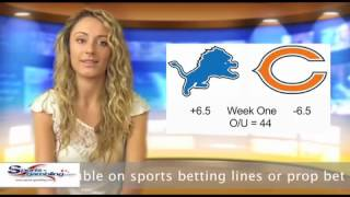 Free Sportsbook Betting Odds NFL Lions Vs Bears