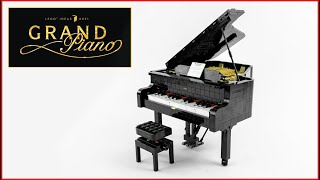 LEGO Ideas 21323 Grand Piano Speed Build - Brick Builder