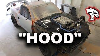 Fitting A Hood On The Hellcat Miata?!?