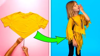 26 CUTE AND SIMPLE CLOTHING TRICKS FOR YOUR KIDS
