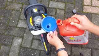 Benzin Heckenschere McCulloch 6028 Vorstellung und Wartung