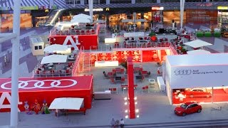 AUDI Exhibition Stand Time Lapse, Munich Airport, By PanTerra.tv