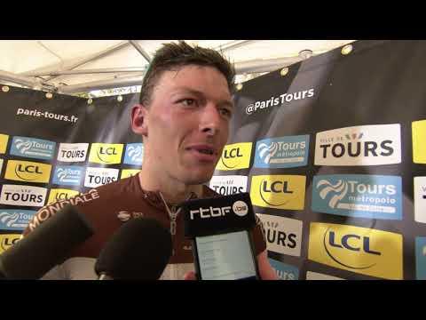 Oliver Naesen - interview d'arrivée - Paris-Tours 2019