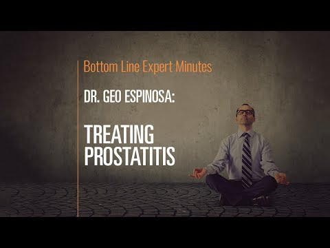 Doxazosin does not help prostatitis