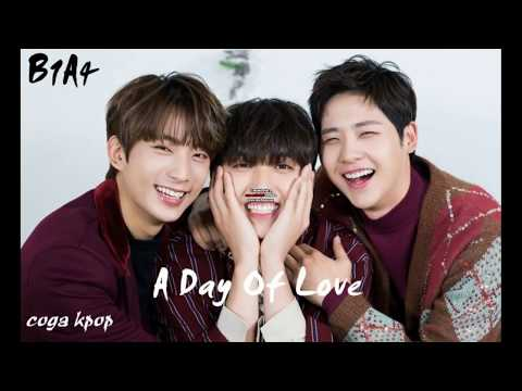 B1A4   A DAY OF LOVE EASY LYRICS