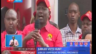 Jubilee vote hunt : Uhuru Kenyatta asks Kalonzo Musyoka to join them