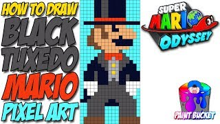 ᐅ Descargar MP3 de How To Draw Super Mario Odyssey Black Tuxedo