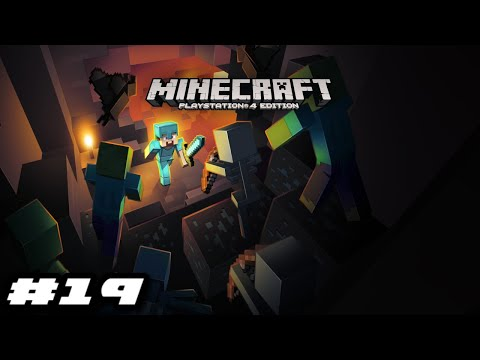 Minecraft PS4 Survival Mode 2020 Gameplay - FINDING AN EMERALD