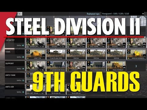 9TH GUARDS! Steel Division 2 Battlegroup BETA Preview #8