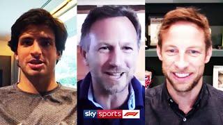 Will the 2020 season start in Austria with no fans? | Christian Horner, Carlos Sainz & Jenson Button