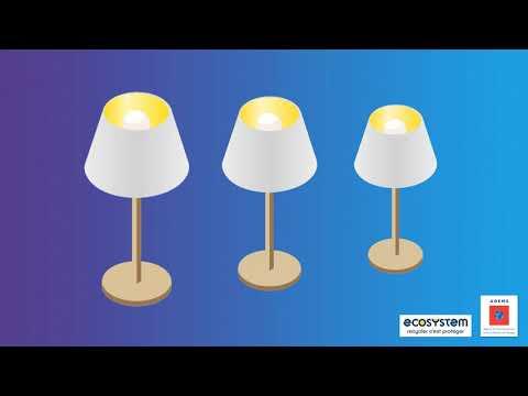 vidéo 4 : DEEE - luminaires