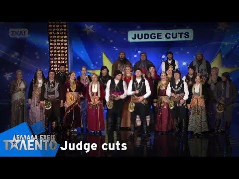 Ο Χορευτικός Όμιλος Ποντίων «Σέρρα» στην εκπομπή «Ελλάδα έχεις ταλέντο»