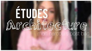 ÉTUDES SUP' / Les études D'Architecture