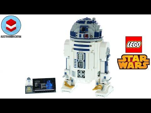 Vidéo LEGO Star Wars 75308 : R2-D2