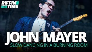 """Slow Dancing In A Burning Room"" - John Mayer Guitar Lesson 
