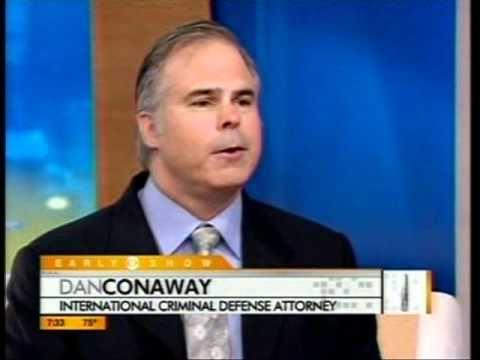 Dan Conaway re: Joran Van der Sloot on CBS The Early Show