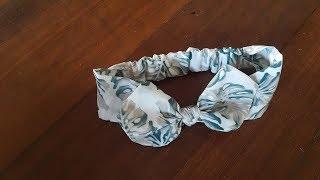 DIY  Headband Baby Girl Handmade (free Pattern) - สอนทำผ้าคาดผมเด็ก ตัดเย็บเอง พร้อมแพทเทิร์น