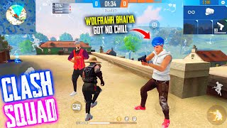 Opponent Players Have No Mercy For Me | Clash Squad Bermuda With @P.K. GAMERS - Garena Free Fire