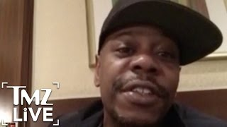 Dave Chappelle: Put Your Phones Away During My Shows | TMZ Live