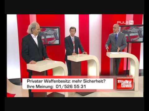 Part 1: Diskussion mit Dr. Georg Zakrajsek 17.11.09 zum Thema Waffenbesitz