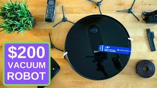$200 Vacuum Robot? Bagotte BG600 Review and Test
