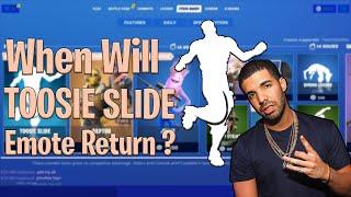 When Will TOOSIE SLIDE Return ?? Toosie Slide official release date!! Fortnitemares 2020