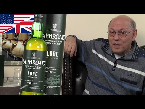 Whisky Review/Tasting: Laphroaig Lore