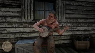 RDR 2 Getting Chased by Hillybillys & Hillybilly Banjo Player Red Dead Redemption 2