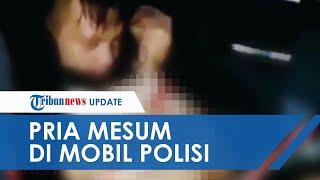 Viral Video Pria Peluk dan Lecehkan Remaja Wanita di Mobil Polisi, Malah Tertawa Puas saat Direkam
