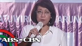 [ABS-CBN]  LIVE: Ousted Chief Justice Sereno speaks at UP forum | 19 June 2018