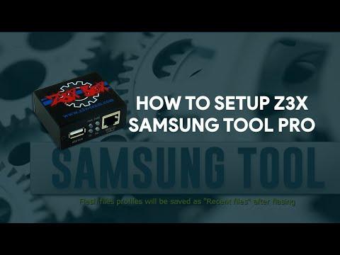 How To Setup Z3X Samsung Tool PRO - [romshillzz]