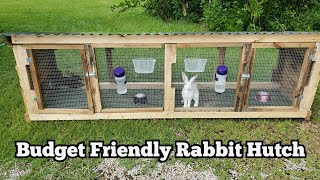 Building A Rabbit Hutch WITH NO BUILDING EXPERIENCE