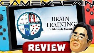 Dr. Kawashima's Brain Training For Nintendo Switch - REVIEW (Brain Age)