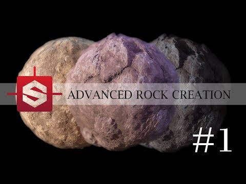 Rock Substance Material tutorial: #1 - Creating the Shape