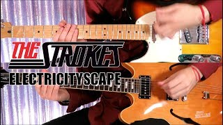 Electricityscape - The Strokes  ( Guitar Tab Tutorial & Cover )