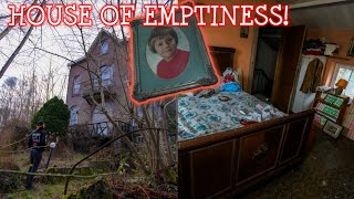 WE FOUND AN ABANDONED HOUSE UP IN THE MOUNTAINS | EVERYTHING LEFT BEHIND!