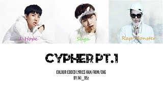 BTS(방탄소년단) - Cypher Pt.1 (Colour Coded Lyrics Han/Rom/Eng)