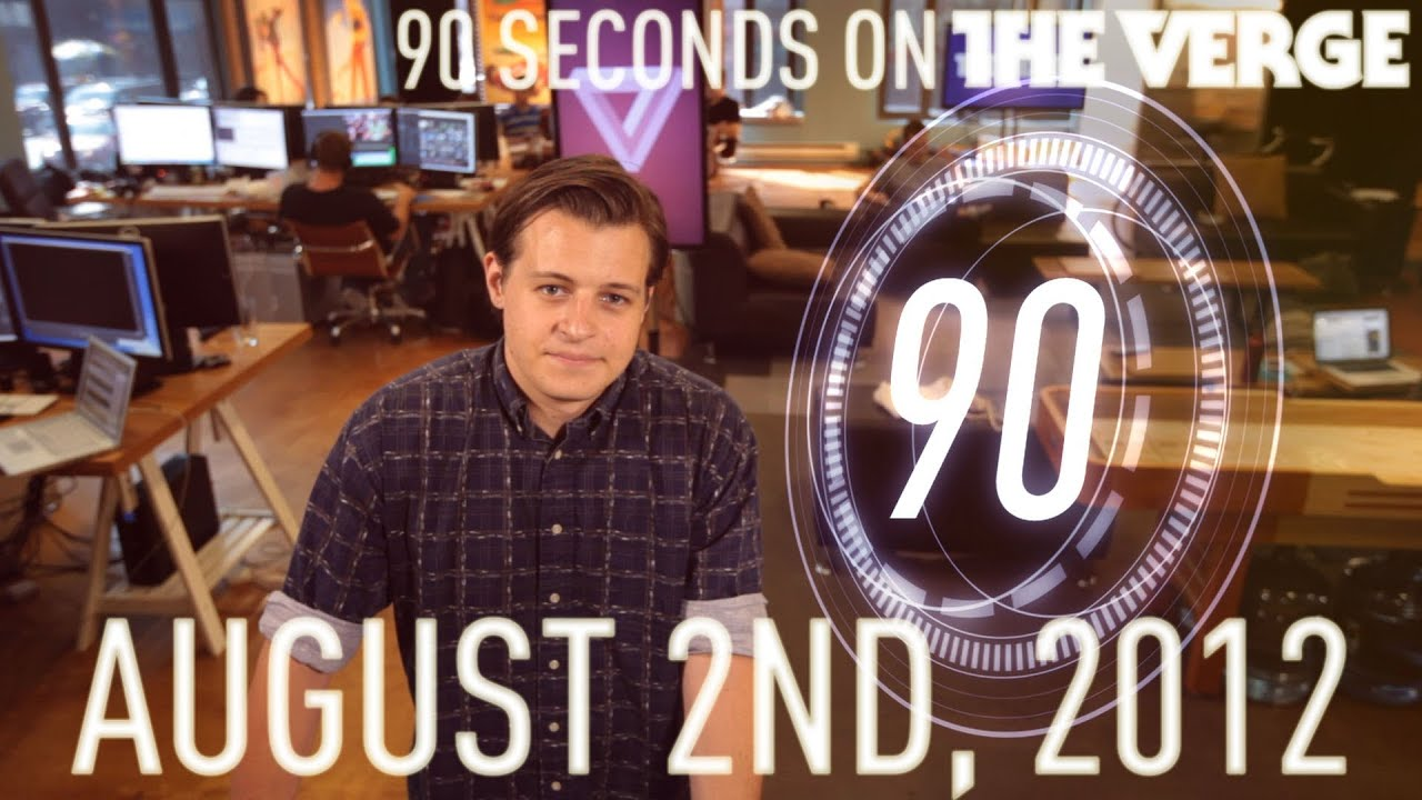 Aereo pricing, Facebook Stories, and more - 90 Seconds on The Verge: Thursday, August 2, 2012 thumbnail
