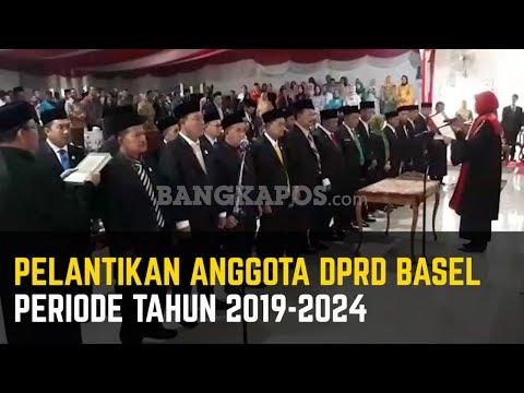 Pelantikan 25 Anggota DPRD Basel Terpilih Periode Tahun 2019-2024