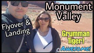 Travel: Grumman Tiger AA5B - Grand Canyon KGCN  to Monument Valley UT25 Landing General Aviation
