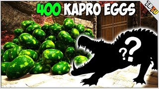 400 Kaprosuchus Eggs! TONS OF COLOR MUTATIONS! Ark Survival Evolved Mutation Zoo E5