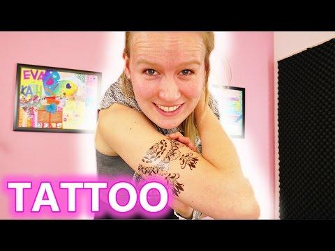 IST KATHI JETZT TÄTOWIERT? | Coole Methode für ein temporäres Tattoo | Tattoo - Druckerpapier TEST