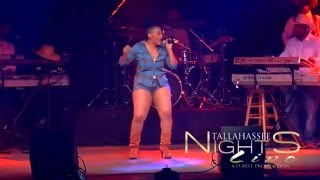 DANE'SHA NICOLE PERFORMS ANITA HOWARD'S FREAK LIKE ME AT TALLAHASSEE NIGHTS LIVE