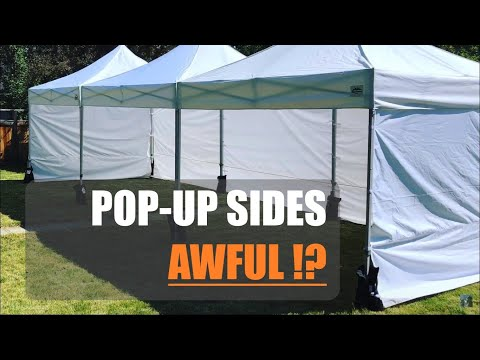 You Will Lose Money on - Instant Canopy Side Walls?