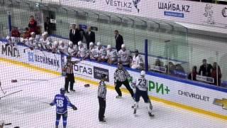 Бой КХЛ : Рыспаев VS Тимкин