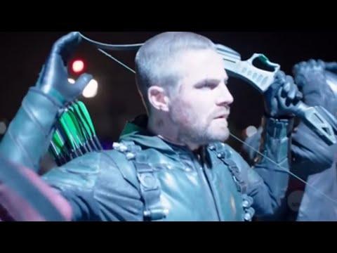 Arrow 7x22 Opening Scene (HD)