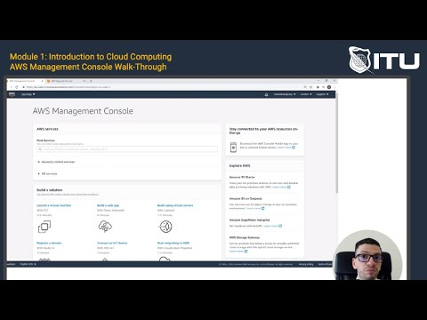 Amazon Web Services Training - AWS Cloud Overview - YouTube